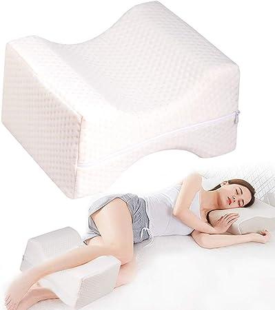 Dormire Con Cuscino Sotto Gambe.Dmsl Knee Pillow Cuscino Memory Foam Per Ginocchia Per Dormire