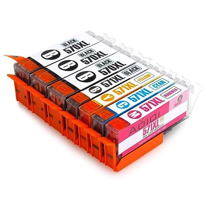 Aoioi Cartuchos de tinta de repuesto para Canon PIXMA MG5750 ...