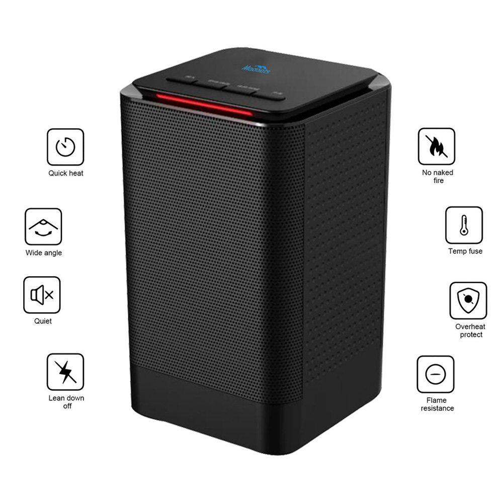 Portable Space Heater Madoats Personal Electric Heaters Electrical Schematic Symbol On For Radiator Small Desktop Ceramic With Thermostattilt Off Protectionover Heat Protection