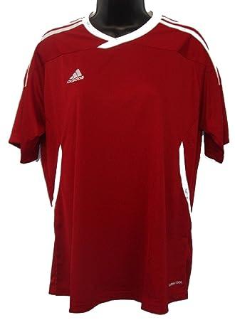 Adidas Mujer V39863 Tiro 11 fútbol Americano W Camiseta Top Talla Mediana roja