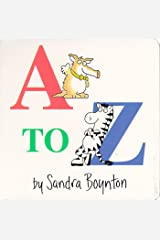 A to Z (Boynton Board Books (Simon & Schuster)) Board book