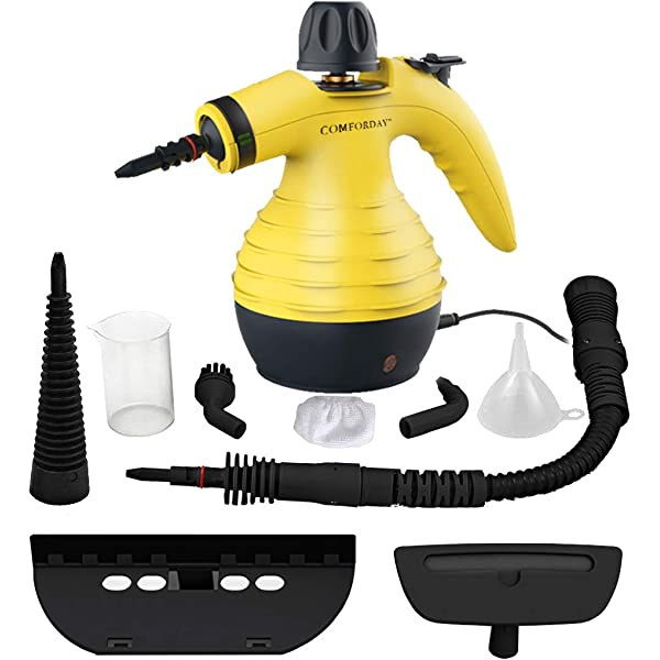 Hand Held Steam Cleaner from Quest Powerful Multi Purpose Surface Cleaner