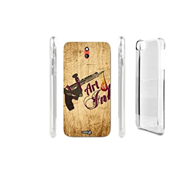 FUNDA CARCASA EFECTO MADERA TATTOO ART PARA HTC DESIRE 610 ...