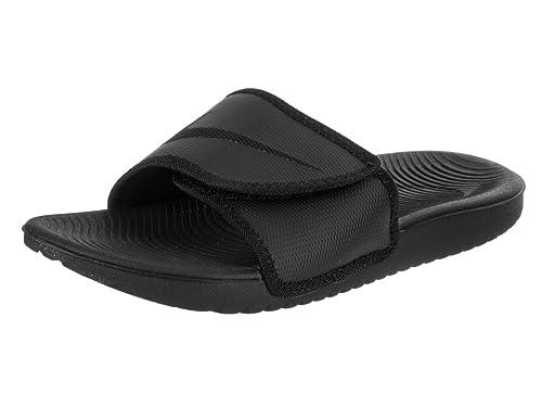 12b4a3170a208 Nike Mens Kawa Adjust Black Synthetic Sandals 46 EU: Amazon.fr ...