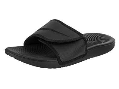 a03abdf3bde2 Nike Men s Kawa Adjustable Slide Sandals Black Black 7