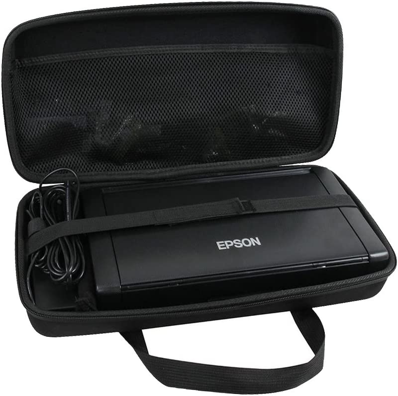 Hermitshell Hard Travel Case for Epson Workforce WF-100 / WF-110 Wireless Mobile Printer