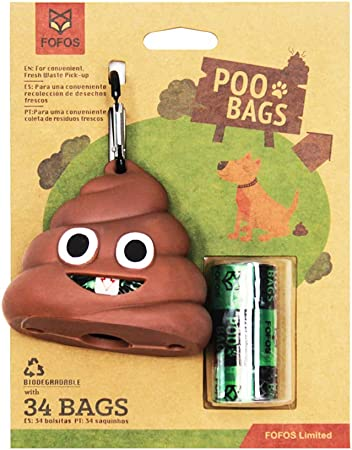 FOFOS de Basura de Perro Biodegradable, respetuosos con el Medio ...