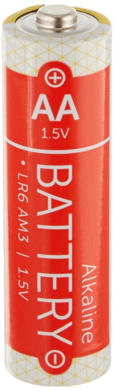 School Smart Alkaline AA Battery Pack of 4