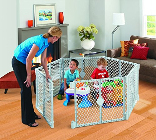 North States SUPERYARD XT Baby/Pet Gate & Play Yard by North States (Image #4)