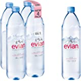 Evian Natural Spring Water, 42.27 Fl Oz, 4 Count