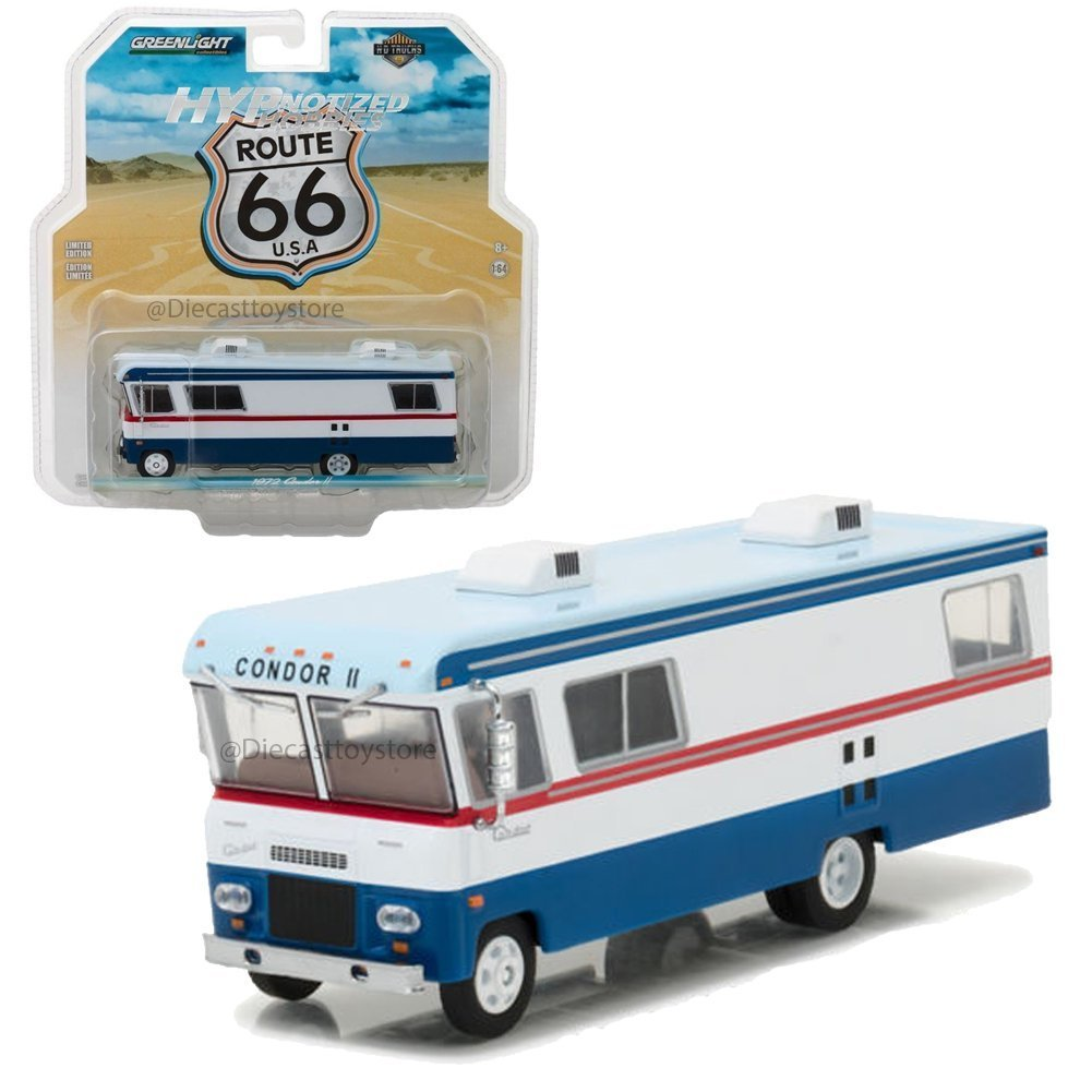 1972 Condor II RV Red, White, and Blue HD Trucks Series 9 1/64 by Greenlight 33090 A