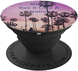 Miami See It Like A Native Popsocket - PopSockets Grip and Stand for Phones and Tablets