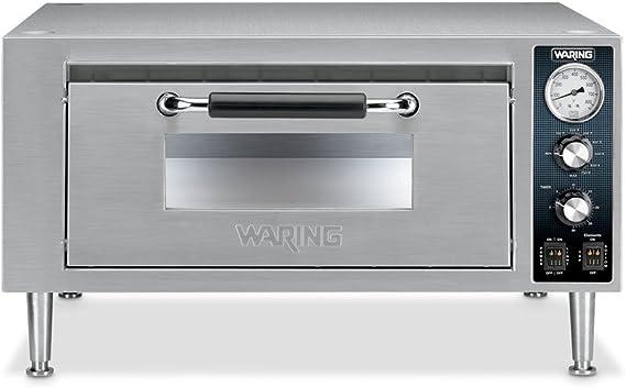 Waring wpo500 single deck countertop pizza oven