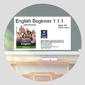 Amazon Com English 16 Beginner 1 1 1 Mini Course Zikc Classroom Selma Zikc Instructor Movies Tv