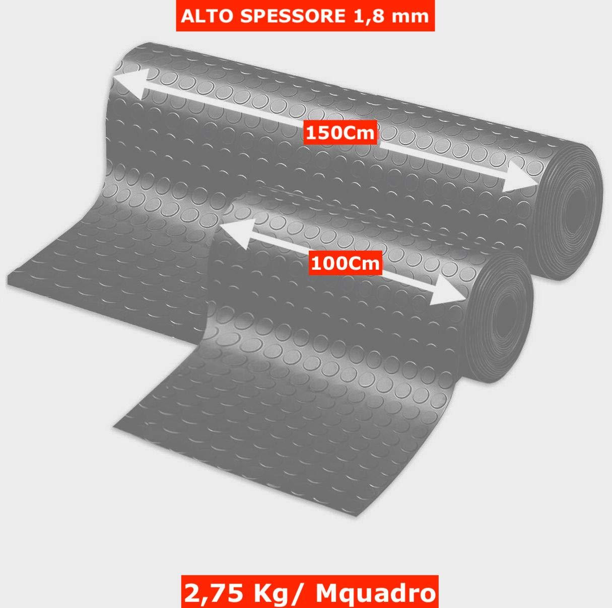 dise/ño de Burbujas Alfombra de Goma Antideslizante alfombras de Goma por Metro para la Industria en Varios Modelos y tama/ños Olivo Tappeti Suelo de Goma Aislante Alfombrilla de Goma