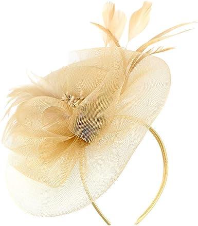 Womens Mesh Net Flower Pillbox Hair Clip Fascinator Hat For Wedding Cocktail US