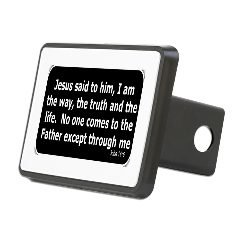 Trailer Hitch Cover Jesus Said to Him Truck Receiver Hitch Plug Insert CafePress
