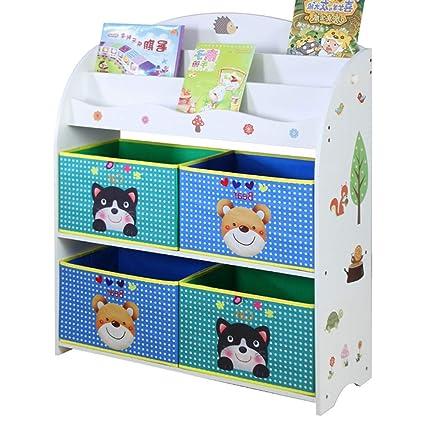 Amazon Com Children S Toy Storage Rack Baby Bookcase Baby