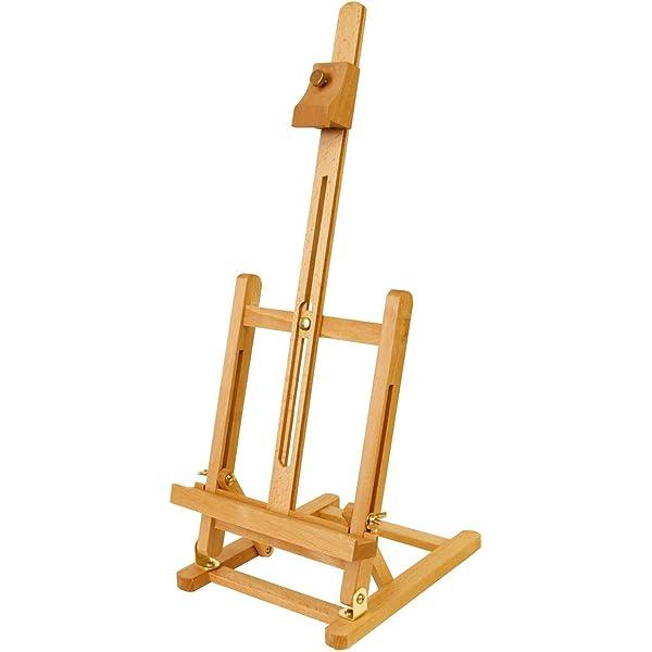 "US Art Supply 21 1//4/"" Tabletop Wood Studio H-Frame Easel Artist Painting"