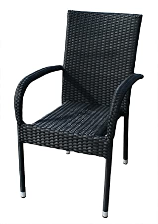 gartenstuhl polyrattan bestseller shop mit top marken. Black Bedroom Furniture Sets. Home Design Ideas