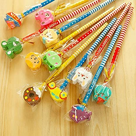 Party Propz Return Gift Pencil Set Of 18 Gifts For Kids Birthday