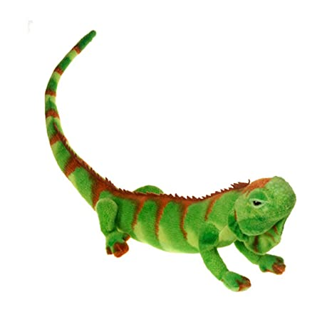 Amazon Com Iguana Plush Stuffed Animal Toy By Fiesta Toys 29 5