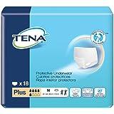 TENA Protective Underwear, Plus Absorbency, Tena Prtv Undrwr Pl Med, (72/CS)