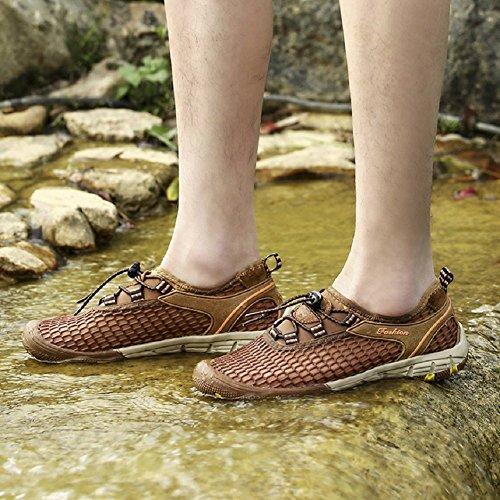 d'été Sport léger Trekking Plein Hommes LIANGXIE de l'eau air Chaussures Chaussures Alpinisme Chaussures Basse Gris Sandales à de de Sport séchage Net Chaussures Rapide en de 5xF1q1UPw