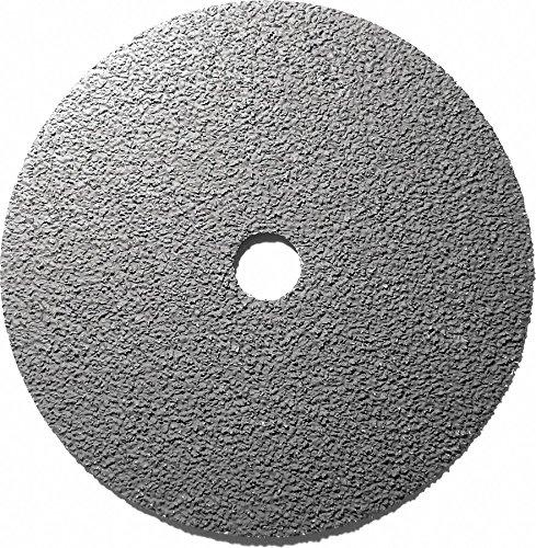 7'' Coated Fiber Disc, 7/8'' Mounting Hole Size, Extra Coarse, 36 Grit Ceramic, 25 PK