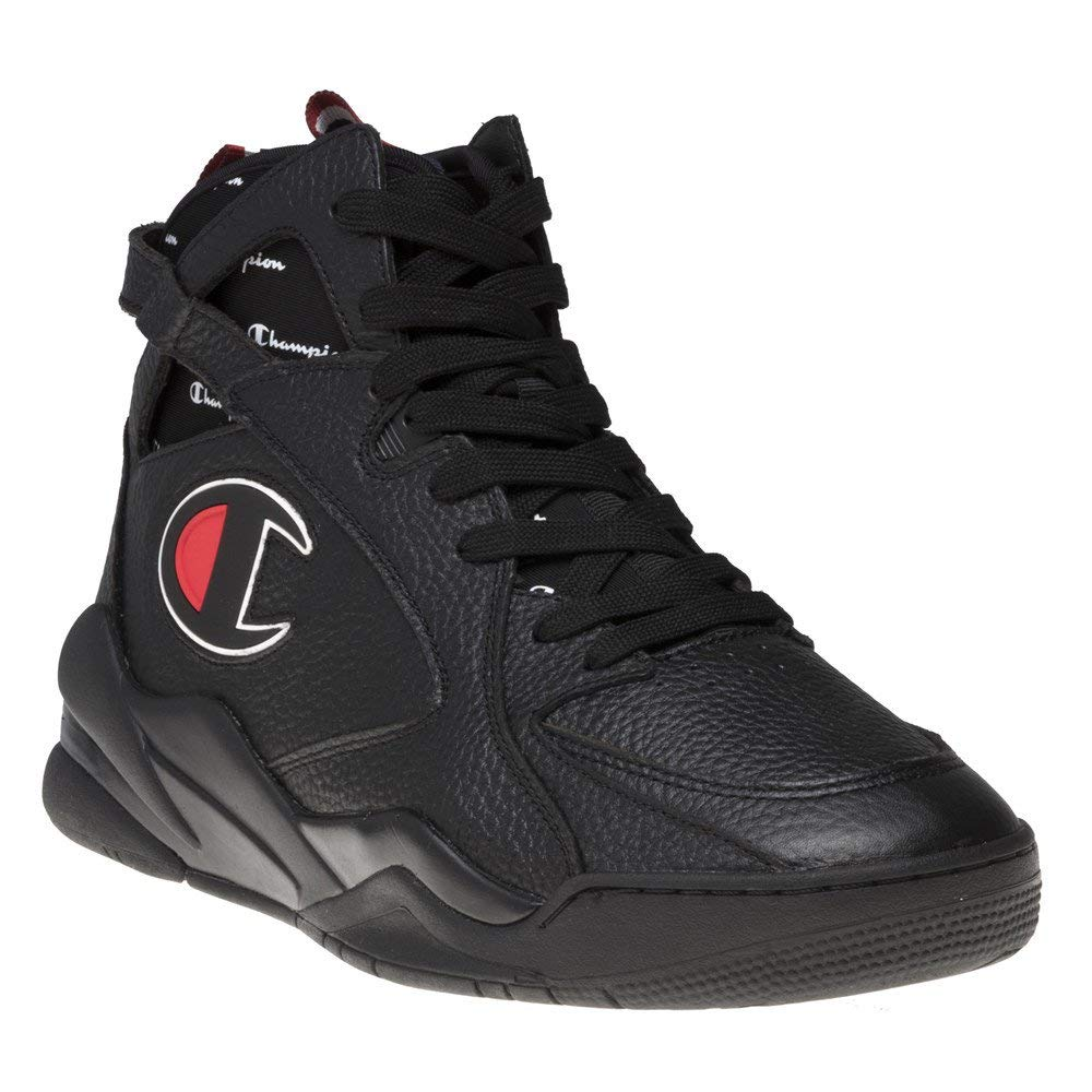 Champion Zone 93 High Herren Sneaker Schwarz: