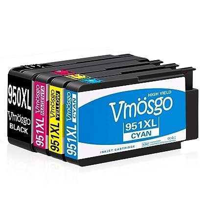 Vmosgo 950XL 951XL Reemplazo para HP 950 951 Cartuchos de Tinta ...