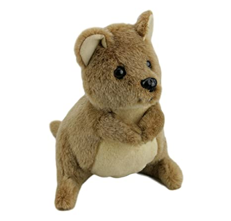 Amazon.com: Elka Australian Quokka Soft Plush Toy Stuffed Animal ...