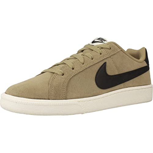 Nike Court Royale Suede - 819802200 - Color Olive-Green - Size: 7.5