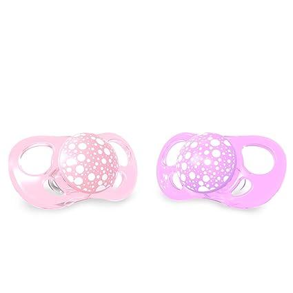 Twistshake 78289 - Chupete, color pastel rosa morado: Amazon ...