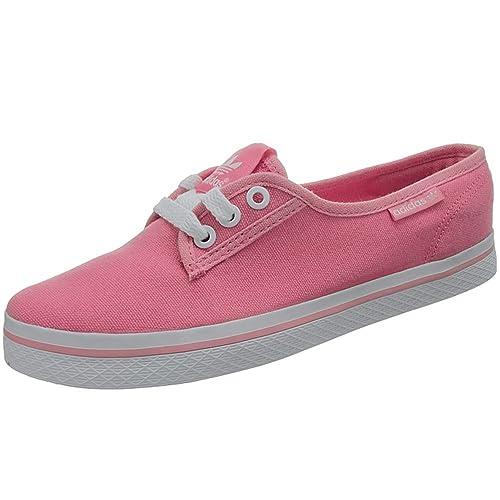 Adidas Honey Plimsole W M19584 Damen Sneaker Freizeitschuhe Ballerinas Pink