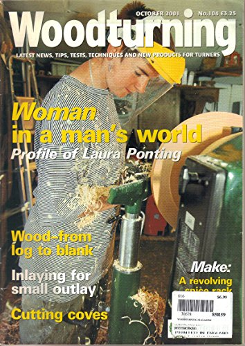Woodturning Magazine, October 2001 (No. 104) (Bailey Stool)