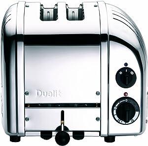 Dualit 2-Slice Toaster, Chrome (Renewed)