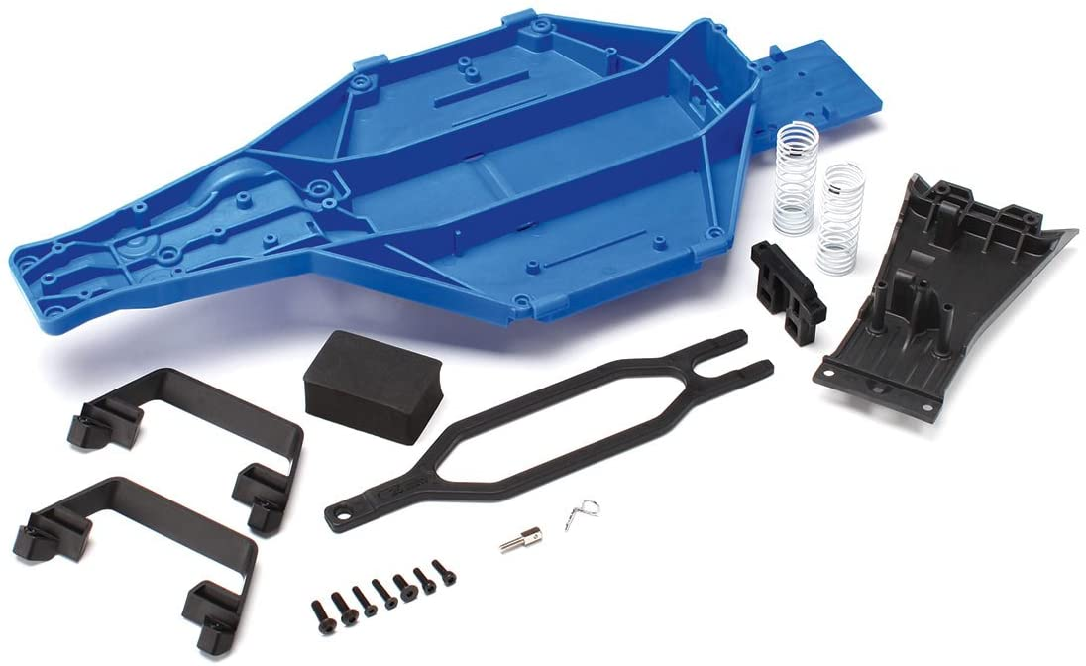 Traxxas 5830 Low-CG Conversion Kit for 1/10 Scale Slash 2WD, Blue 61TXnU4RBjL