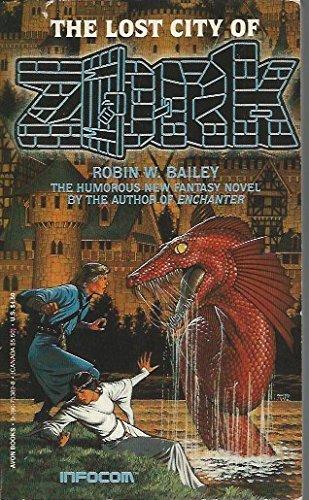 book cover of The Lost City of Zork