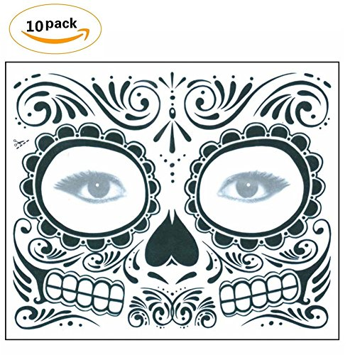 Solvang Novelty Waterproof Tattoo Stickers Face Stickers Stage