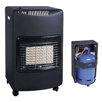 Portátil estufa de gas (taller calor LPG Butano regulador + manguera: Amazon.es: Hogar