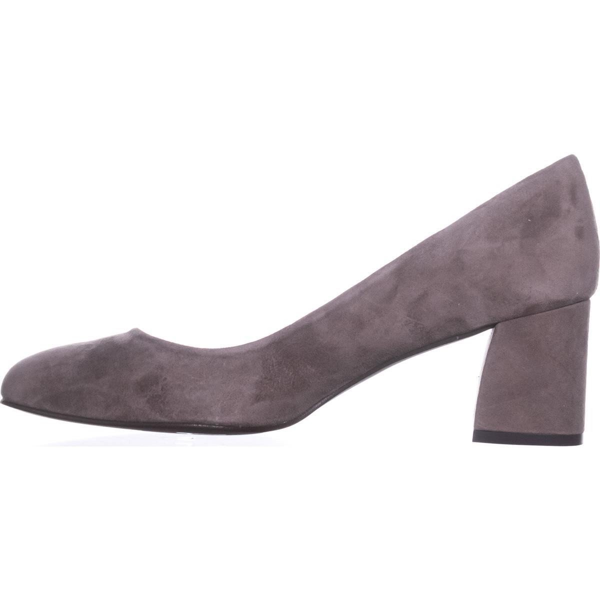 French Sole Womens Trance Suede Round Toe Classic Pumps B07DPKFM4H 10.5 B(M) US|Taupe Suede