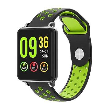 XUEYAN521 Rastreador de Actividad Full Touch Screen Smart Watch ...