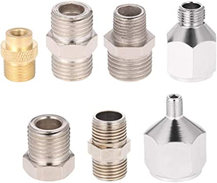Badger /& Master Airbrush Brand Airbrush Fitting Conversion Adapters for Paasche