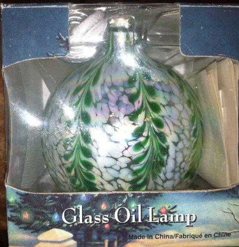 Hand Blown Glass Oil Lamp (Blown Glass Oil Lamp)
