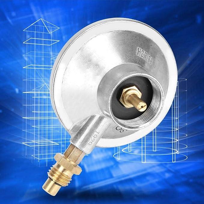"""Premium 1/""""-20UNF Propane Gas Tank Regulator Control Valve Low Pressure"""