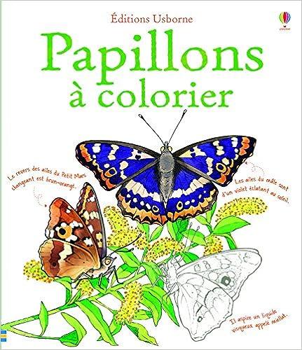 Lire Papillons à colorier pdf, epub ebook