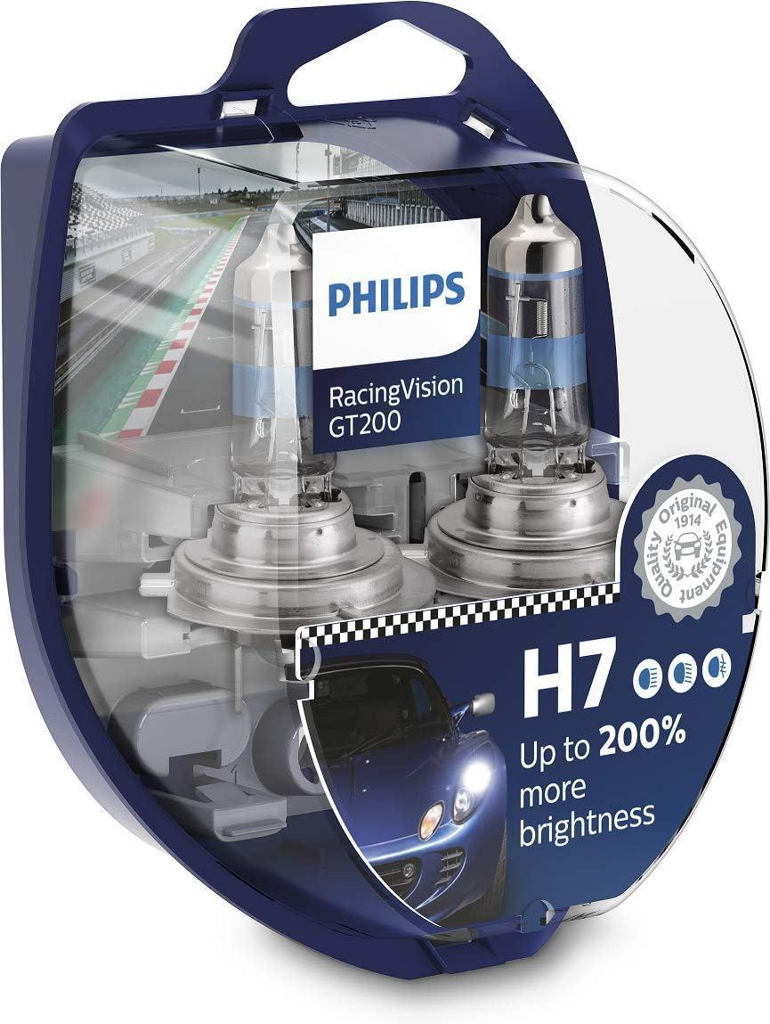 Philips RacingVision GT200 H7 bombilla faros delanteros