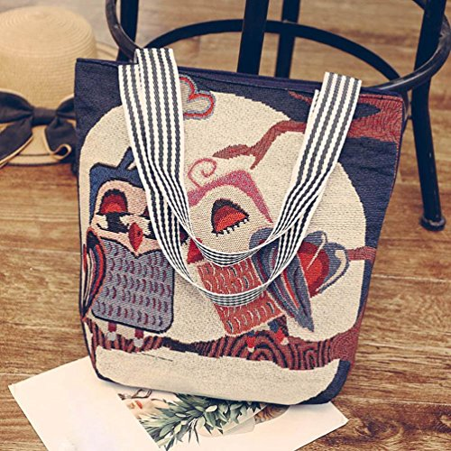 Vintage Ladies Bags Canvas Daily Handle H Bag Tote 2018 Women Satchel Shopper JYC Tote Top Handbag Handbag Casual Canvas Messenger Purse Shoulder Ladies Cartoon Shoulder Hobo E6qaT7aW