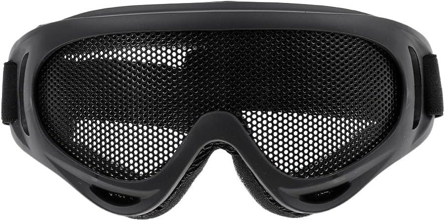 CUTICATE Máscara de Malla de Gafas Metálicas para ...